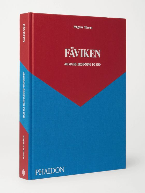 PHAIDON Fäviken: 4015 Days, Beginning to End Hardcover Book