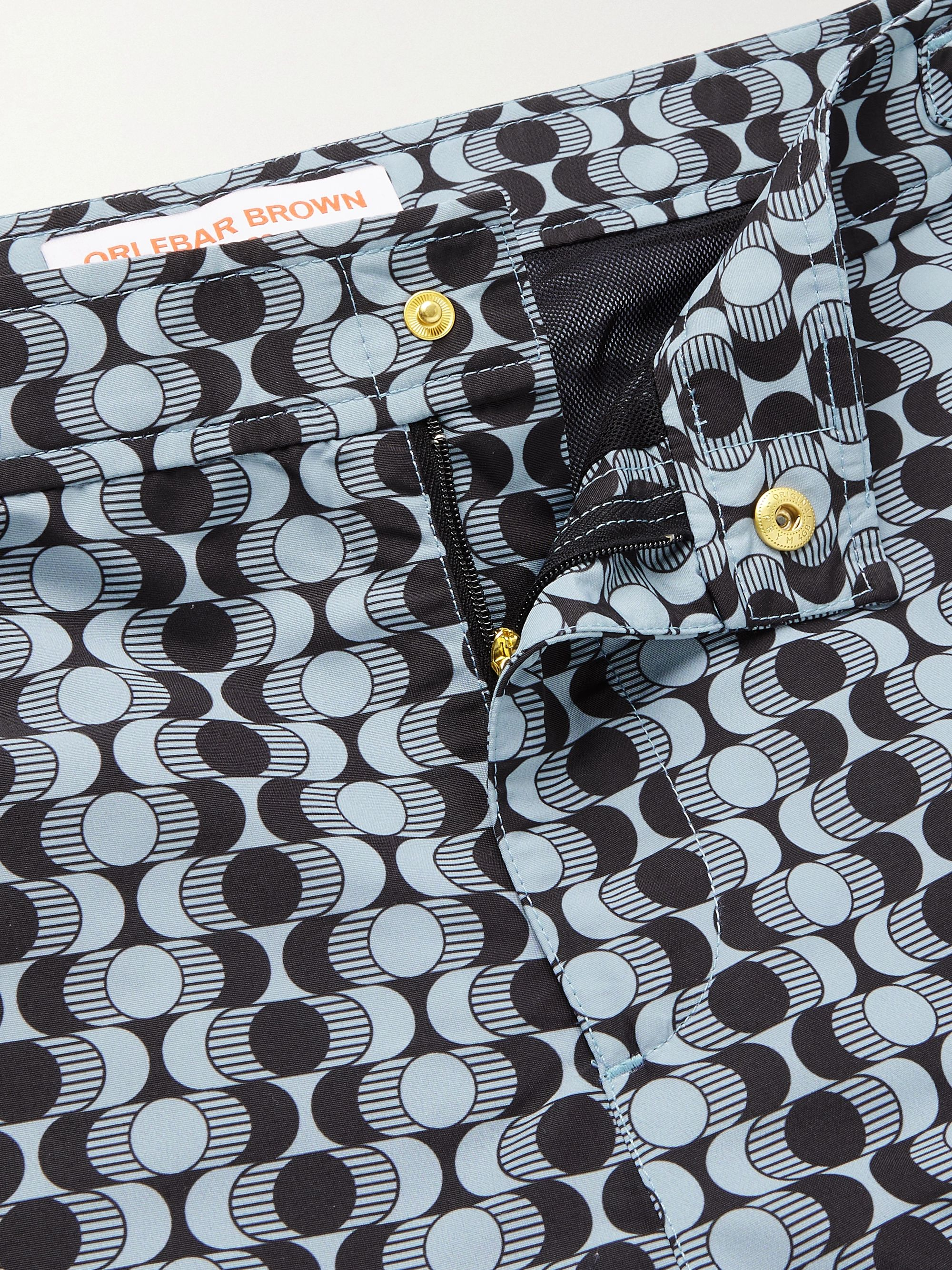 ORLEBAR BROWN Bulldog X Caliso Mid-Length Printed Swim Shorts