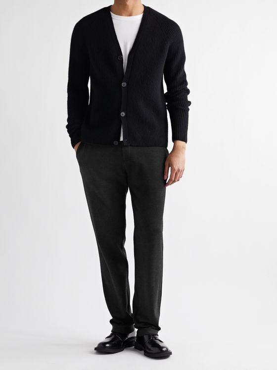 THE ROW Tale Slim-Fit Wool and Cashmere-Blend Sweatpants
