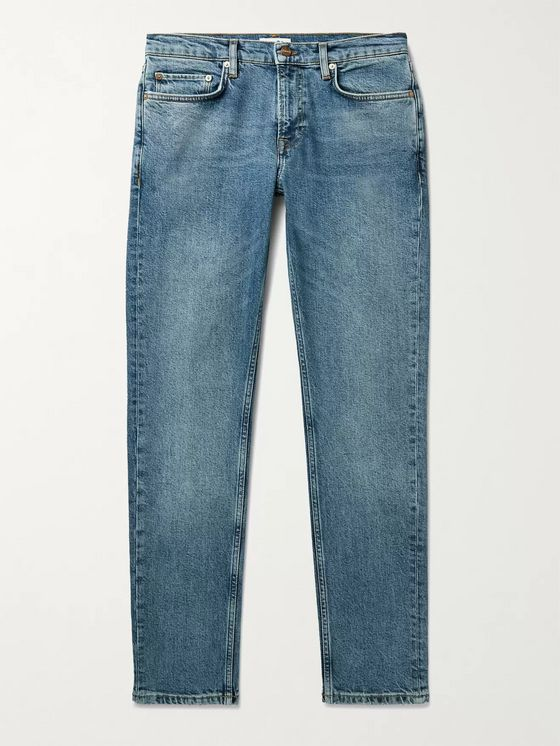 NN07 Slater Slim-Fit Tapered Denim Jeans