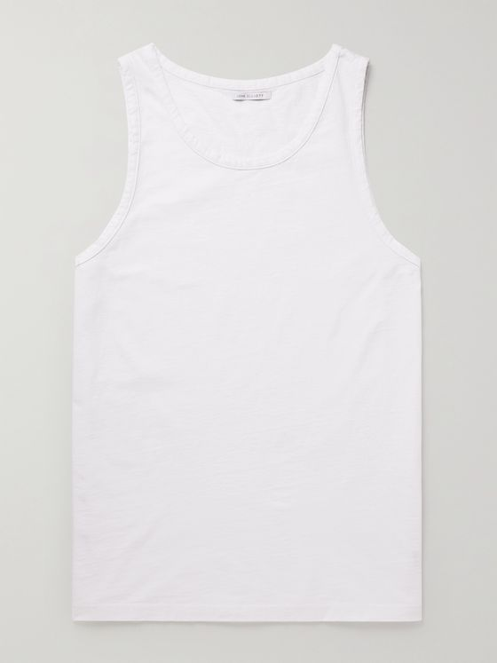 JOHN ELLIOTT Rugby Cotton-Jersey Tank Top