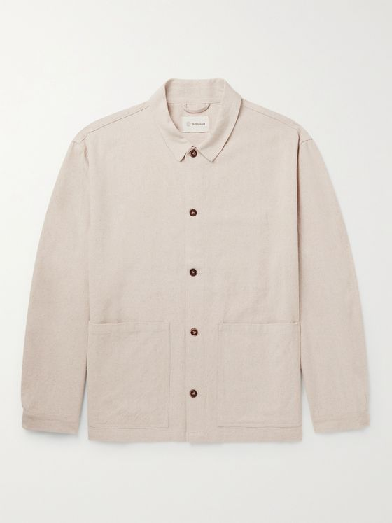 Satta Cotton and Linen-Blend Jacket