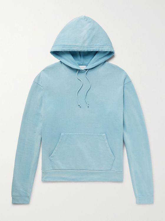 JOHN ELLIOTT Exposure Loopback Cotton-Jersey Hoodie