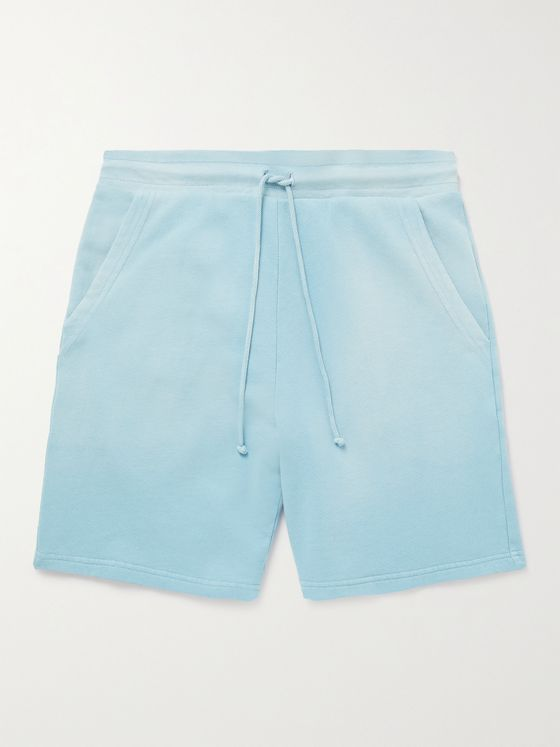 JOHN ELLIOTT Exposure Loopback Cotton-Jersey Drawstring Shorts