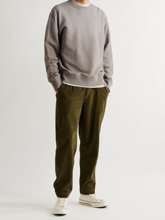 FOLK Dégradé Loopback Cotton-Jersey Sweatshirt