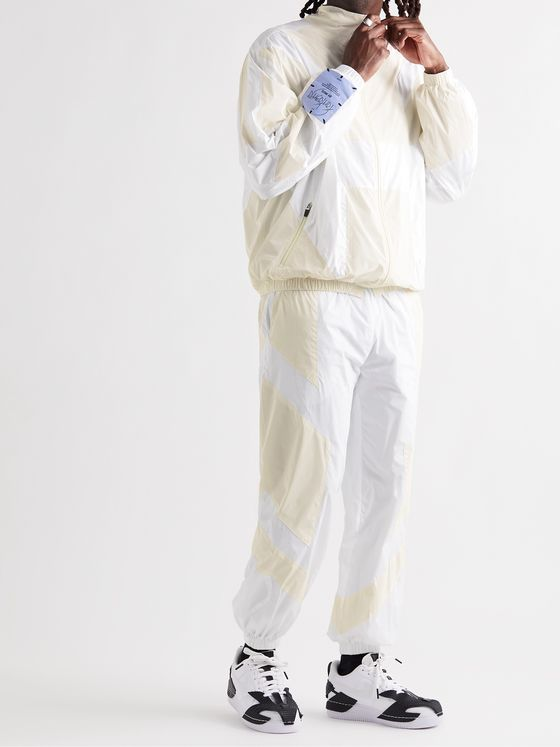 MCQ Fantasma Glow-in-the-Dark Panelled Shell Track Pants