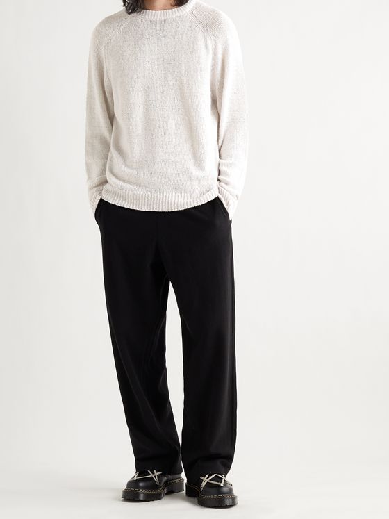 OUR LEGACY Hemp and Lyocell-Blend Sweater