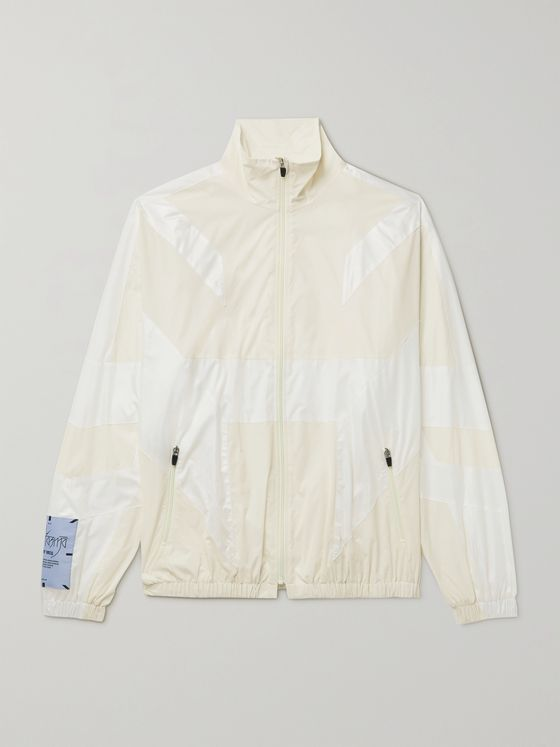 MCQ Fantasma Glow-in-the-Dark Panelled Shell Jacket