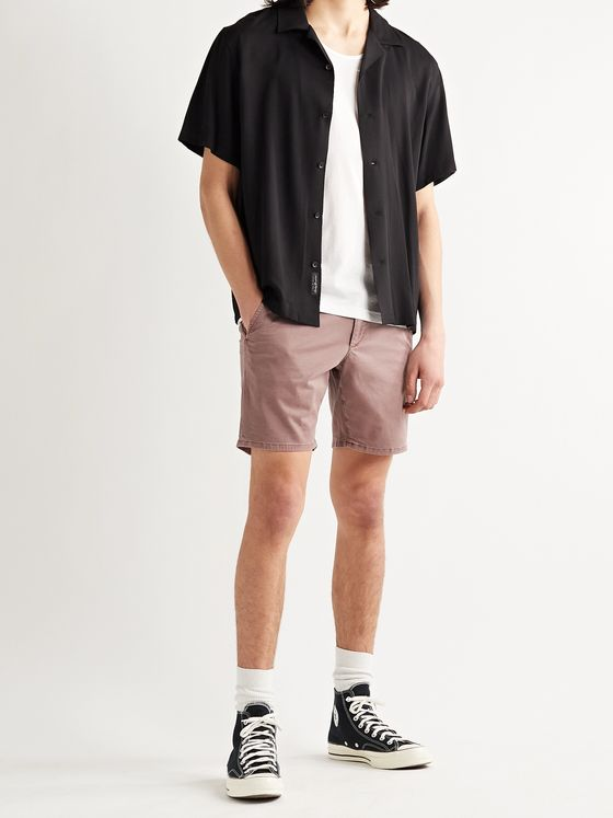 RAG & BONE Supima Cotton-Blend Twill Chino Shorts
