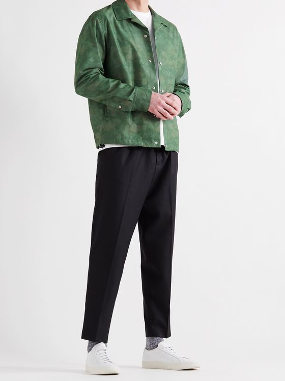 RAG & BONE Finlay Printed Cotton-Sateen Shirt Jacket