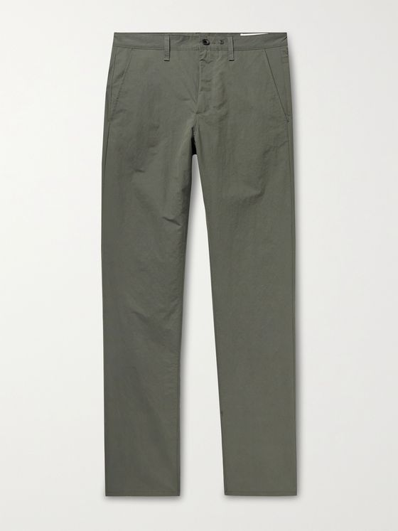 RAG & BONE Fit 2 Slim-Fit Nylon and Cotton-Blend Poplin Chinos