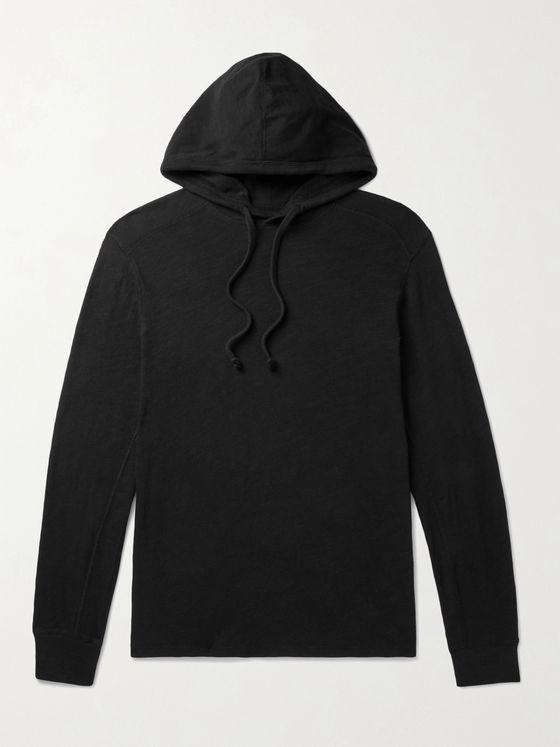 RAG & BONE Flame Carded Cotton-Jersey Hoodie