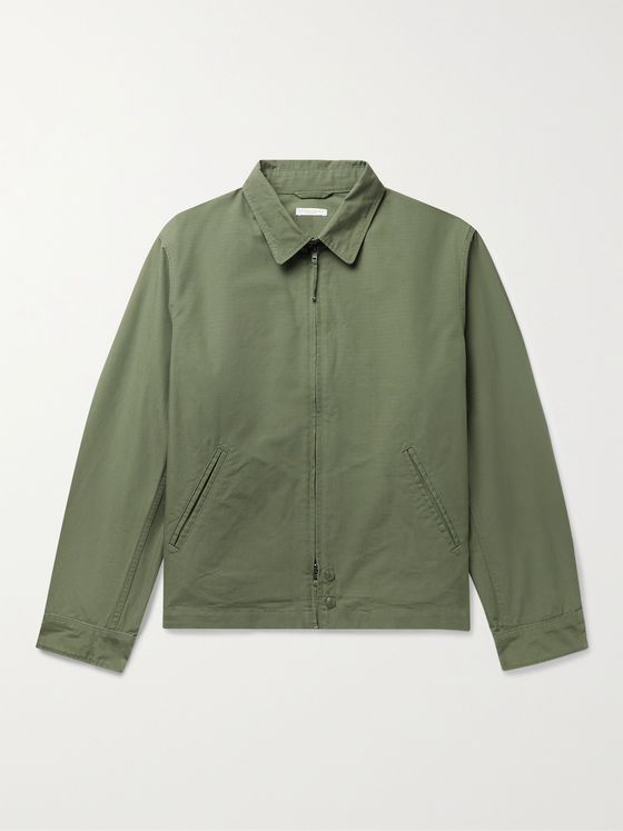 ENGINEERED GARMENTS Claigton Cotton-Ripstop Jacket