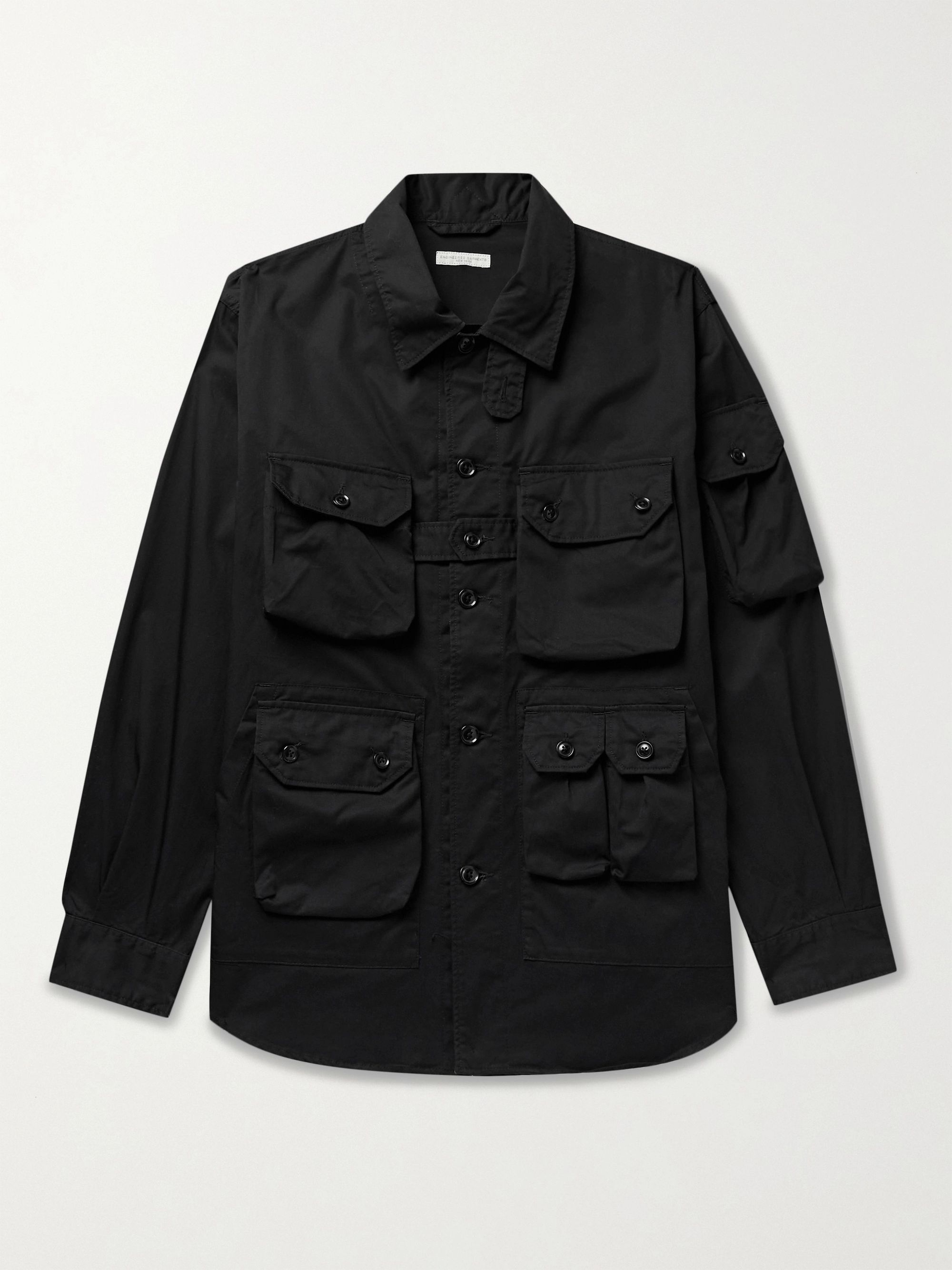 ENGINEERED GARMENTS Explorer Cotton-Twill Shirt Jacket