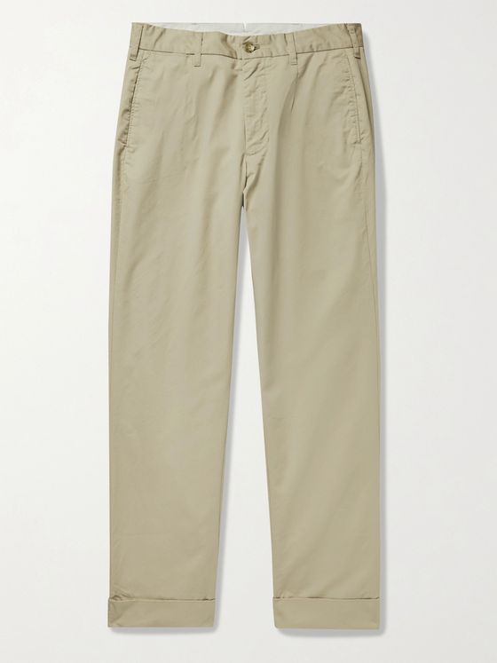 ENGINEERED GARMENTS Anover Cotton-Twill Trousers