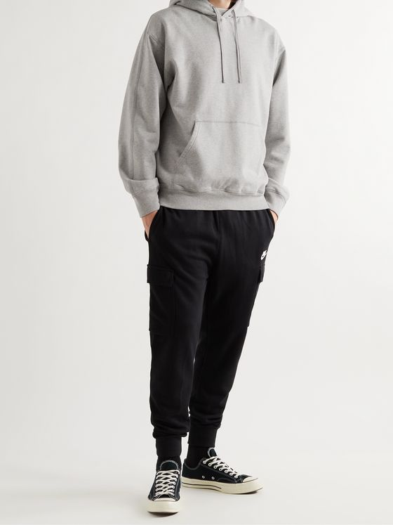 REIGNING CHAMP Loopback Cotton-Jersey Hoodie