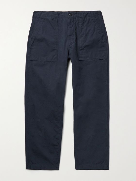 ENGINEERED GARMENTS Fatigue Cotton-Ripstop Trousers