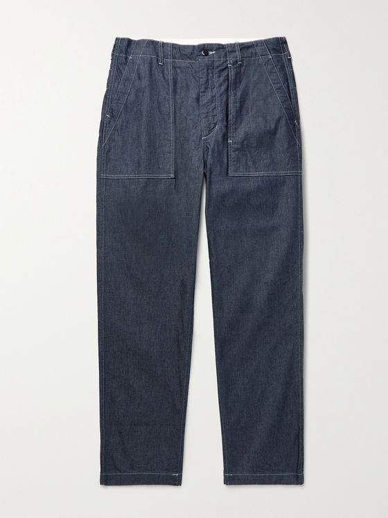 ENGINEERED GARMENTS Fatigue Denim Jeans