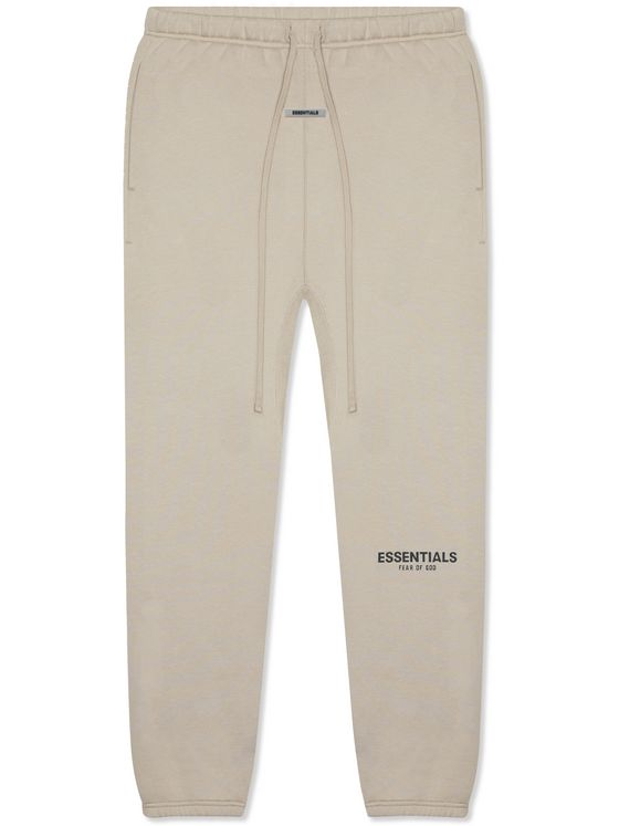 Fear of God Essentials Logo-Print Cotton-Jersey Sweatpants