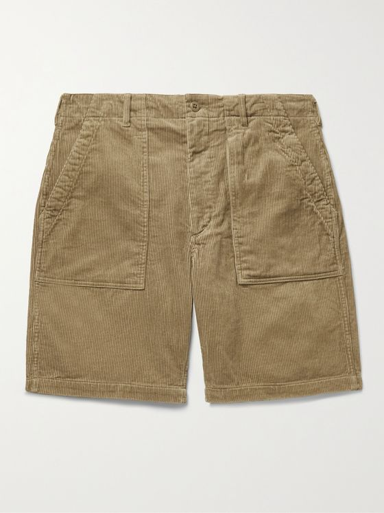 ENGINEERED GARMENTS Fatigue Cotton-Corduroy Shorts