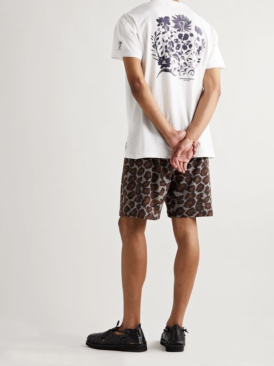 ENGINEERED GARMENTS Printed Cotton-Jersey T-Shirt