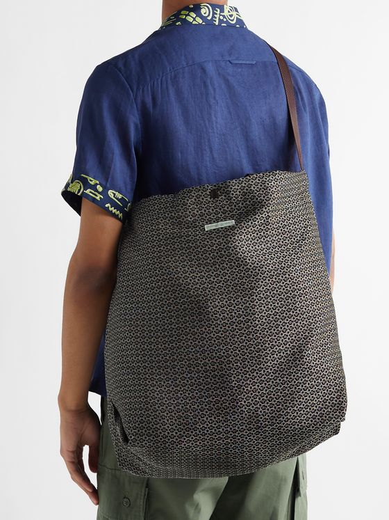 ENGINEERED GARMENTS Jacquard Tote Bag