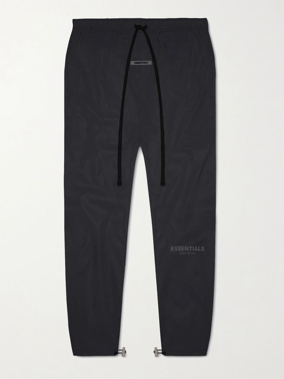Fear of God Essentials Logo-Print Cotton and Nylon-Blend Sweatpants