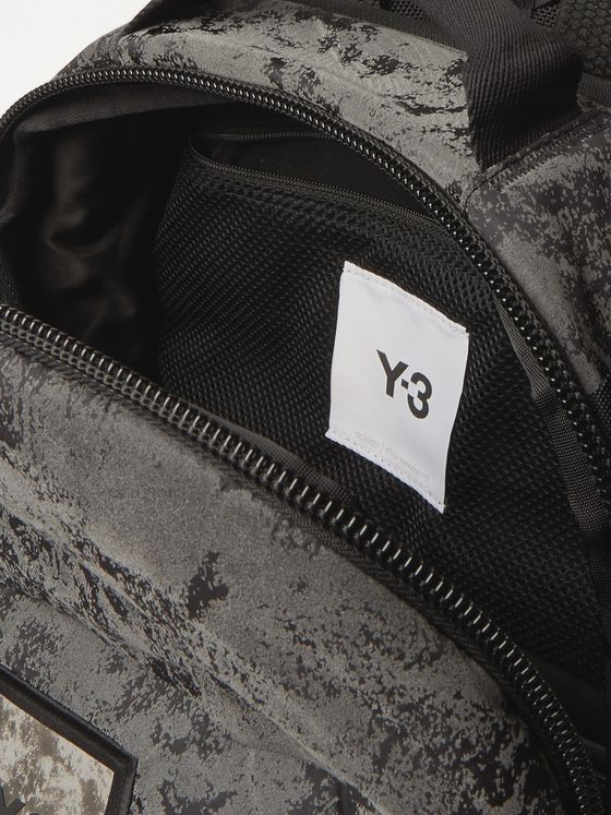Y-3 Reflective Logo-Appliquéd CORDURA Backpack