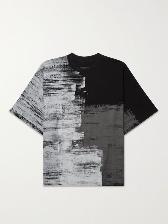 A-COLD-WALL* Logo-Print Organic Cotton-Jersey T-Shirt