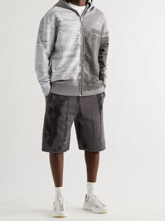 A-COLD-WALL* Overdyed Loopback Cotton-Jersey Shorts