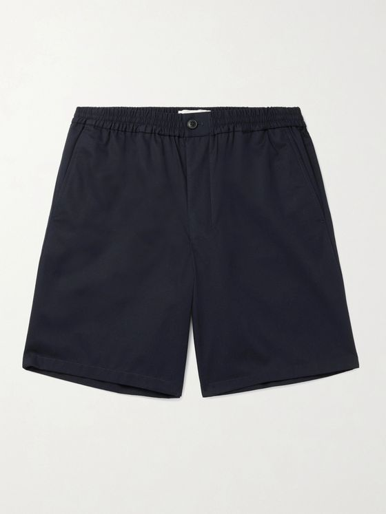 AMI PARIS Cotton-Gabardine Bermuda Shorts
