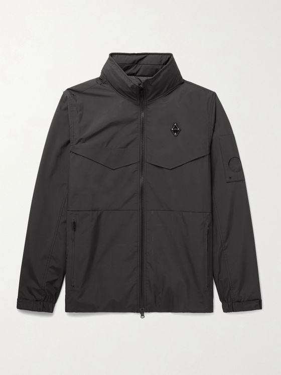 A-COLD-WALL* Logo-Appliquéd Shell Jacket