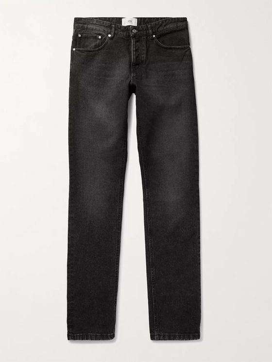 AMI PARIS Slim-Fit Denim Jeans