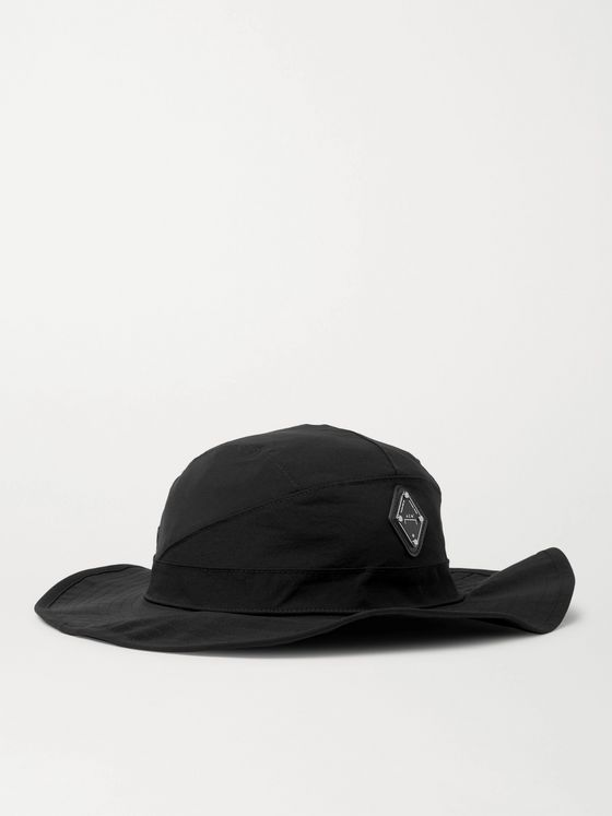 A-COLD-WALL* Logo-Appliquéd Stretch-Nylon Bucket Hat