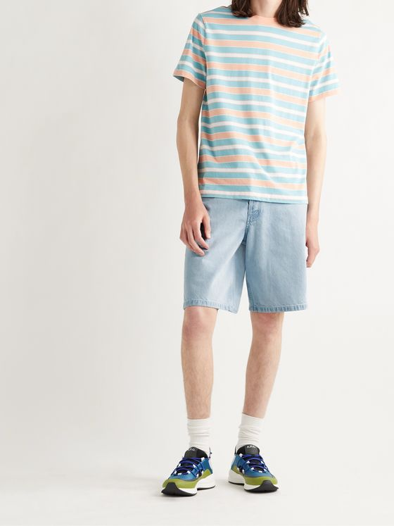 A.P.C. Teddy Denim Shorts