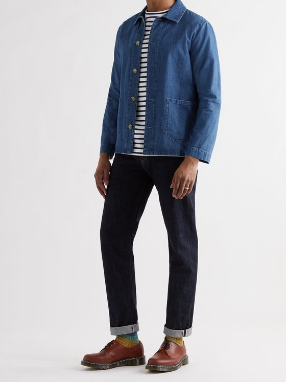 A.P.C. Kerlouan Denim Chore Jacket