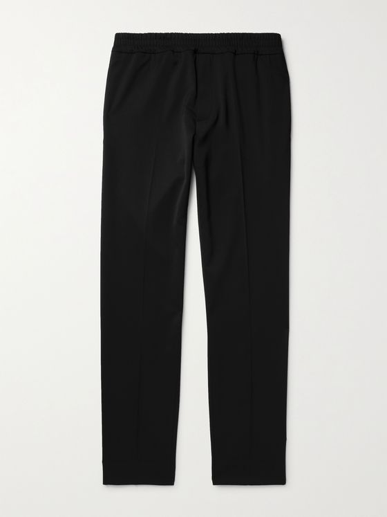 MAISON KITSUNÉ New City Tapered Twill Trousers