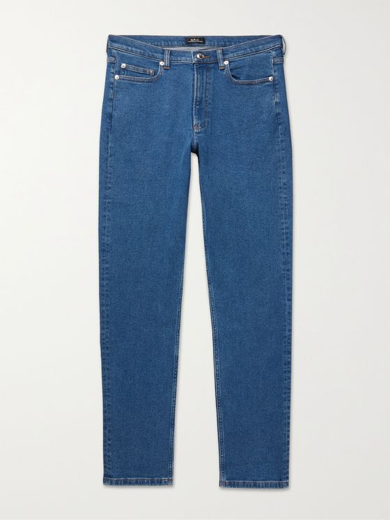 A.P.C. Middle Standard Slim-Fit Stretch-Denim Jeans