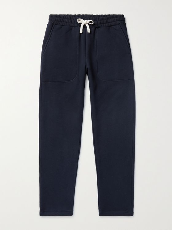NORSE PROJECTS Falun Tapered Loopback Cotton-Jersey Sweatpants
