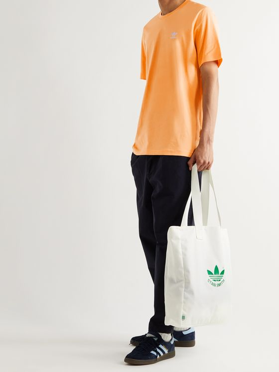 ADIDAS ORIGINALS Adicolor Essentials Logo-Embroidered Cotton-Jersey T-Shirt