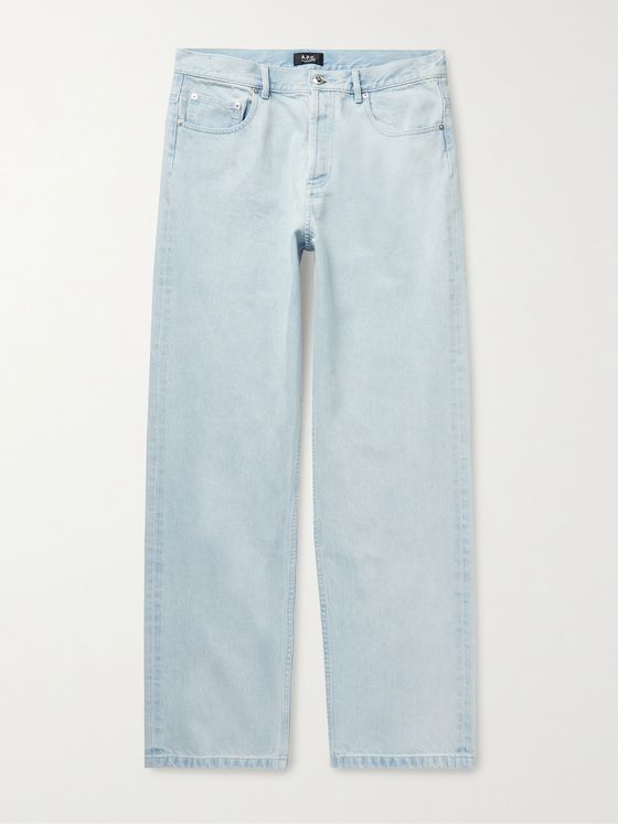 A.P.C. Fairfax Wide-Leg Denim Jeans