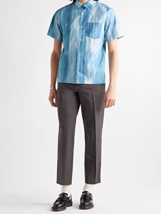 A.P.C. Joseph Tie-Dyed Cotton-Poplin Shirt