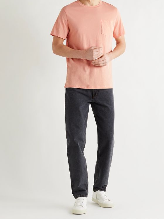A.P.C. Road Pima Cotton-Jersey T-Shirt