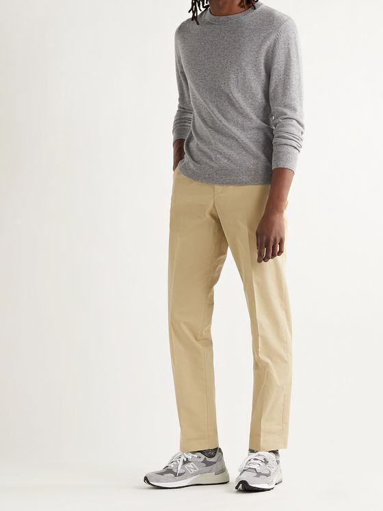 A.P.C. Barnabe Cotton-Blend Gabardine Trousers