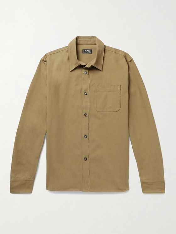 A.P.C. Trek Cotton Shirt