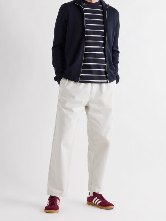 NORSE PROJECTS Fjord Merino Wool Zip-Up Cardigan