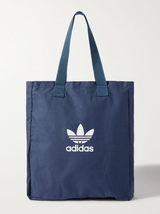 ADIDAS ORIGINALS Adicolor Logo-Print Cotton-Canvas Tote Bag