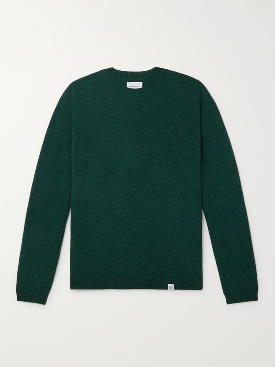 NORSE PROJECTS Sigfred Mélange Wool Sweater