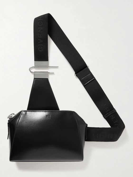 GIVENCHY Leather Messenger Bag