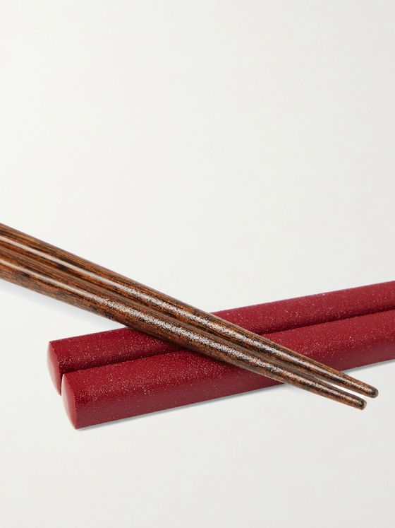 BY JAPAN + Kawai Gokukanshitsu Three-Pack Wood Chopsticks